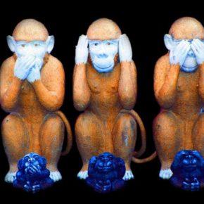 Die drei Affen - (C) terimakasih0 CC0 via Pixabay.de