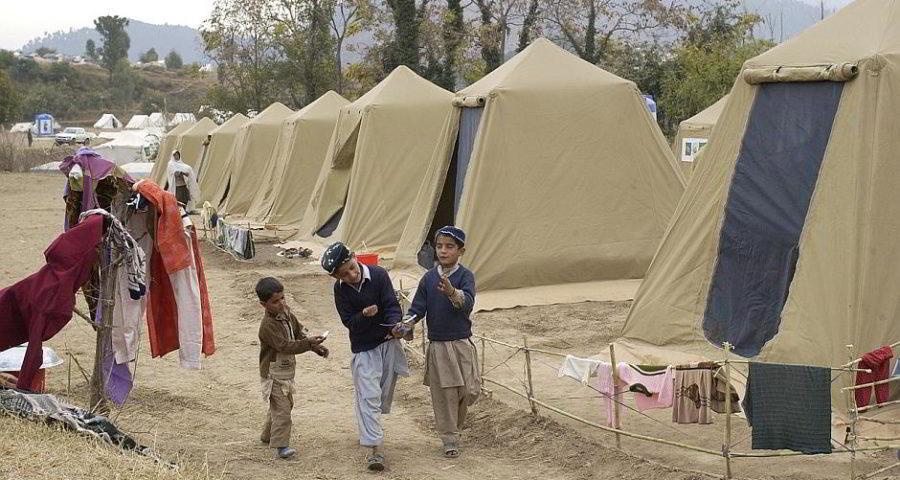 Flüchtlinge in Shinkiari - (C) tpsdave CC0 via Pixabay.de