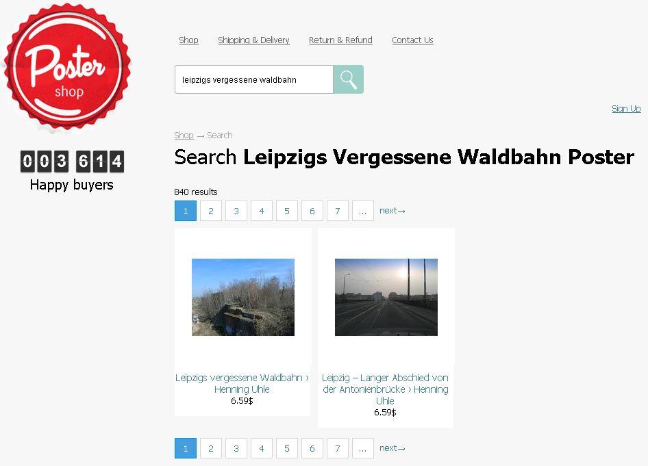 Wallpart: Bilder von meiner Webseite können ohne meine Einwilligung gekauft werden