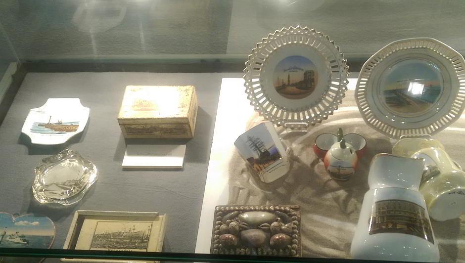 Porzellan im Heimatmuseum Warnemünde