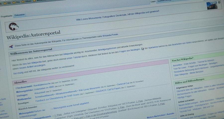 Wikipedia Autoren-Portal