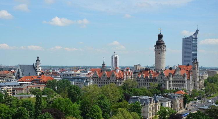 Skyline von Leipzig - mit freundlicher Genehmigung von Andreas Schmidt / Leipziger Touristik- und Marketing GmbH