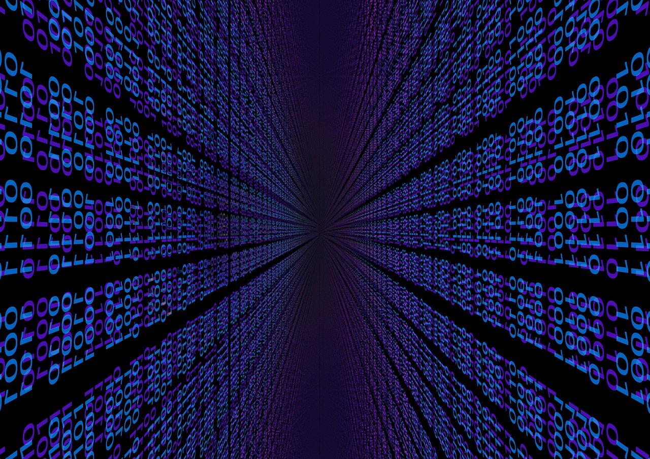 Binäre Daten - (C) Geralt Altmann CC0 via Pixabay.de