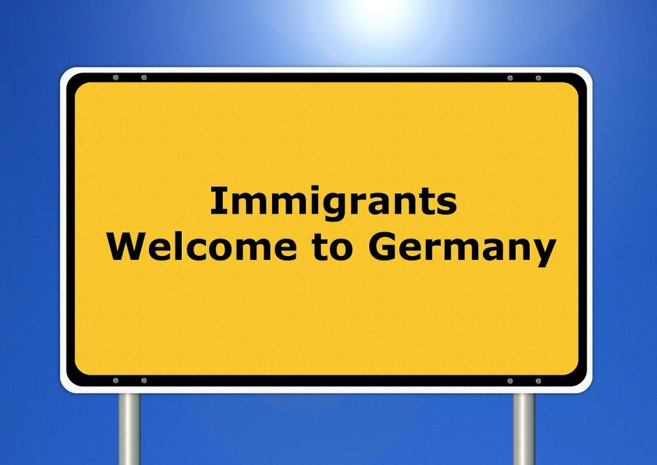 Imigrants - Welcome to Germany - (C) diema CC0 via Pixabay.de