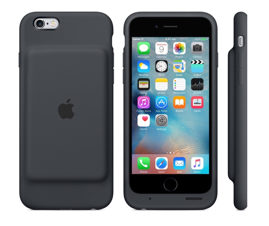 Apple iPhone 6s Smart Battery Case - via Caschys Blog