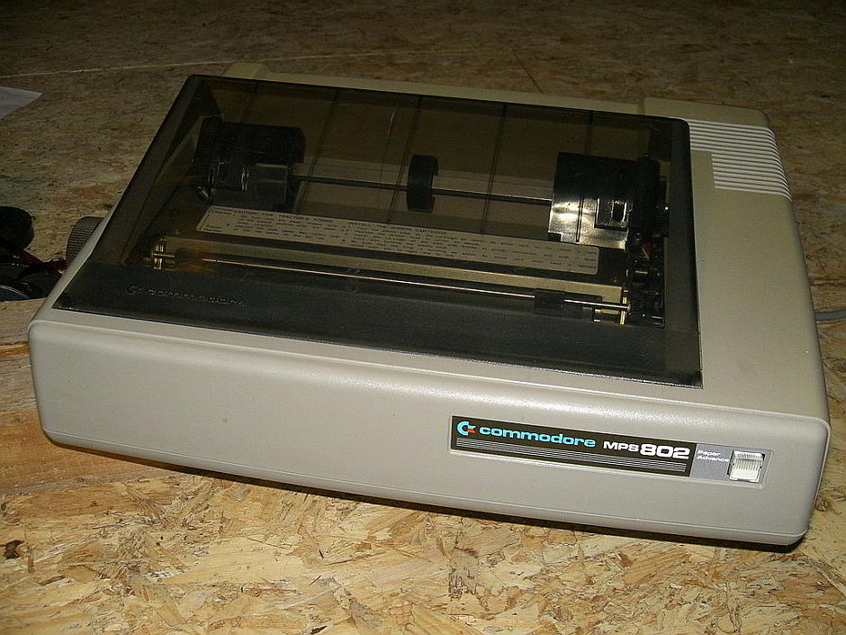 Commodore Matrixdrucker MPS-802 - I, MOS6502 [CC BY-SA 2.5 (http://creativecommons.org/licenses/by-sa/2.5)], via Wikimedia Commons