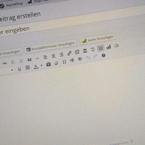 WordPress Dashboard - Neuer Artikel - Henning Uhle