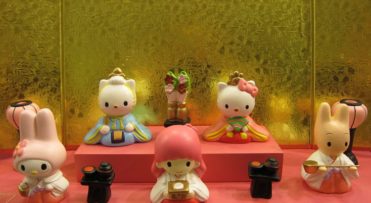 Hello Kitty Hinamatsuri, Japanese Doll Festival - von Nullumayulife [CC BY 2.0 (http://creativecommons.org/licenses/by/2.0)], via Wikimedia Commons
