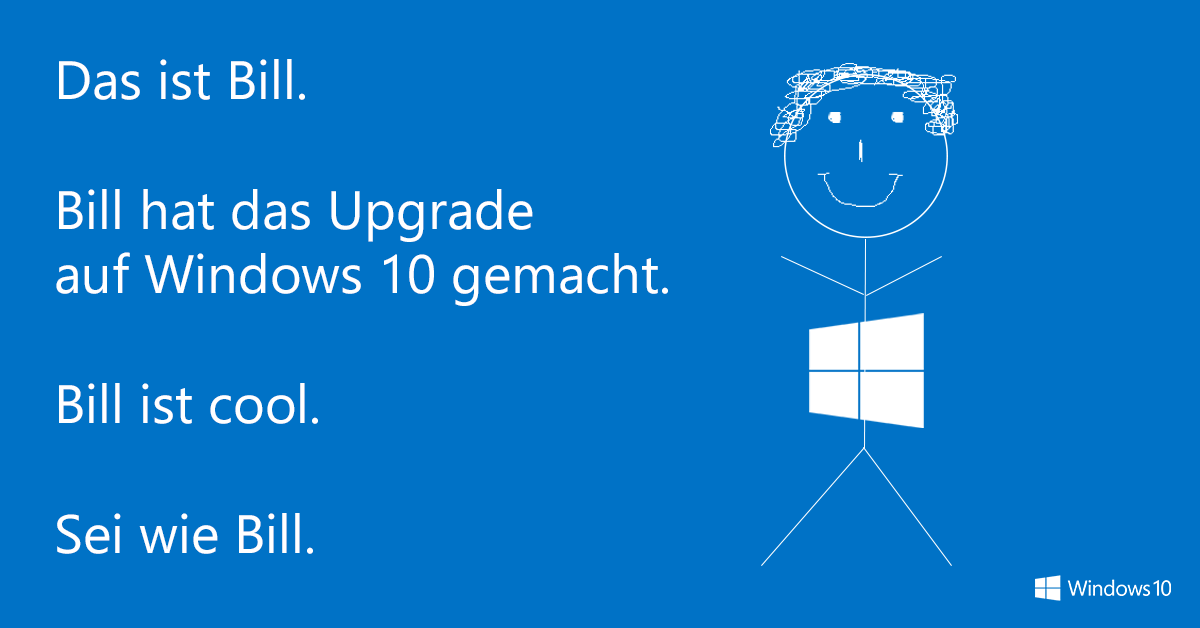 Bill / Windows 10 - (C) Microsoft / Windows 10