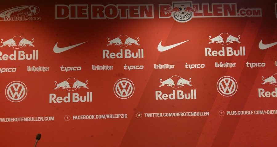 Zu Besuch bei RB Leipzig