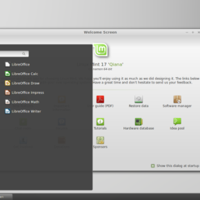 Linux Mint 17 (Qiana) Cinnamon - By Sannaj (Own work) [CC BY-SA 3.0 (http://creativecommons.org/licenses/by-sa/3.0)], via Wikimedia Commons