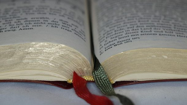 Ein Buch mit Lesezeichen - (C) Efraimstochter CC0 via Pixabay.de