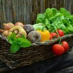 Essen mit Antioxidantien