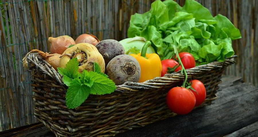 Ein Gemüsekorb - (C) condesign CC0 via Pixabay.de