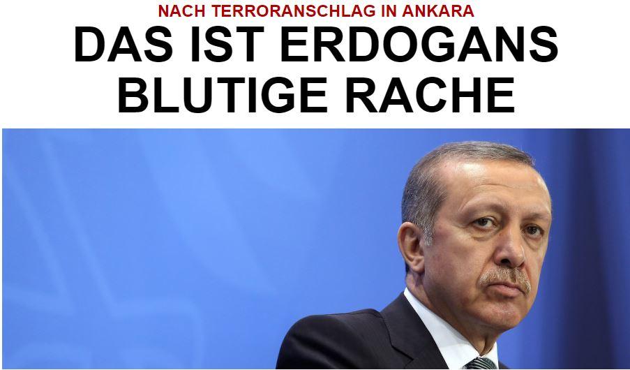 Huffington Post - Terroranschlag in Ankara: Das ist Erdogans blutige Rache