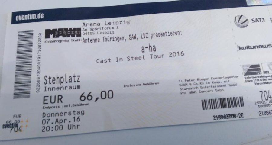 Cast In Steel: a-ha starten ihre Deutschland-Tour in Leipzig