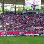 RB Leipzig wurde irgendwie gefeiert