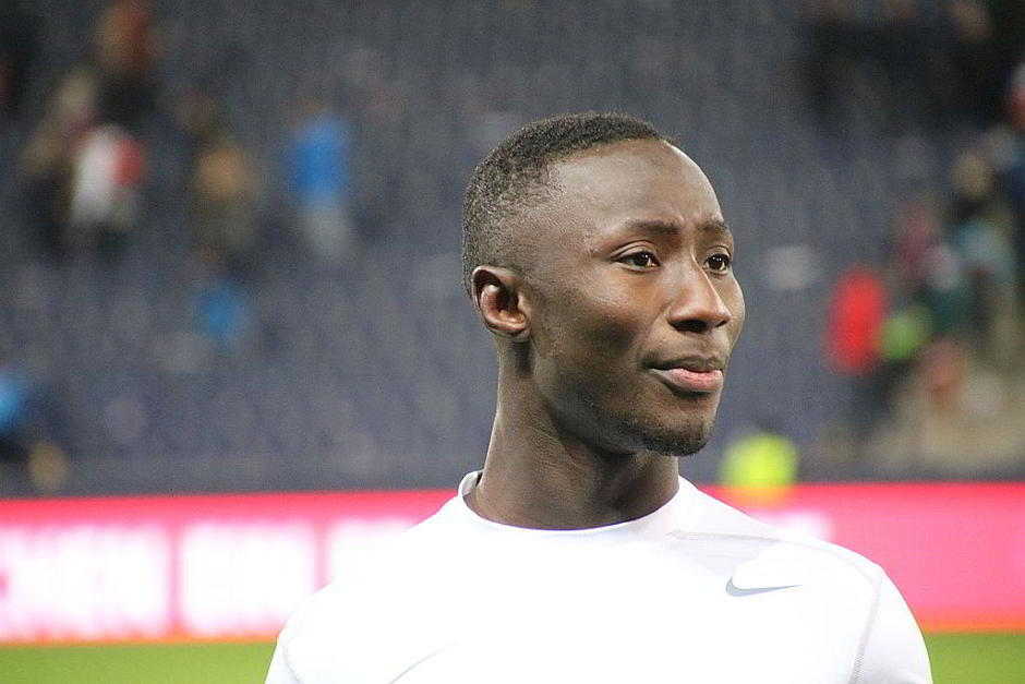 Naby Keïta beim FC Red Bull Salzburg - By Werner100359 (Own work) [CC BY-SA 4.0 (http://creativecommons.org/licenses/by-sa/4.0)], via Wikimedia Commons