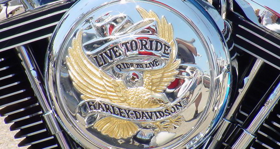 Harley Davidson - Live to Ride - Free Picture from morguefile.com