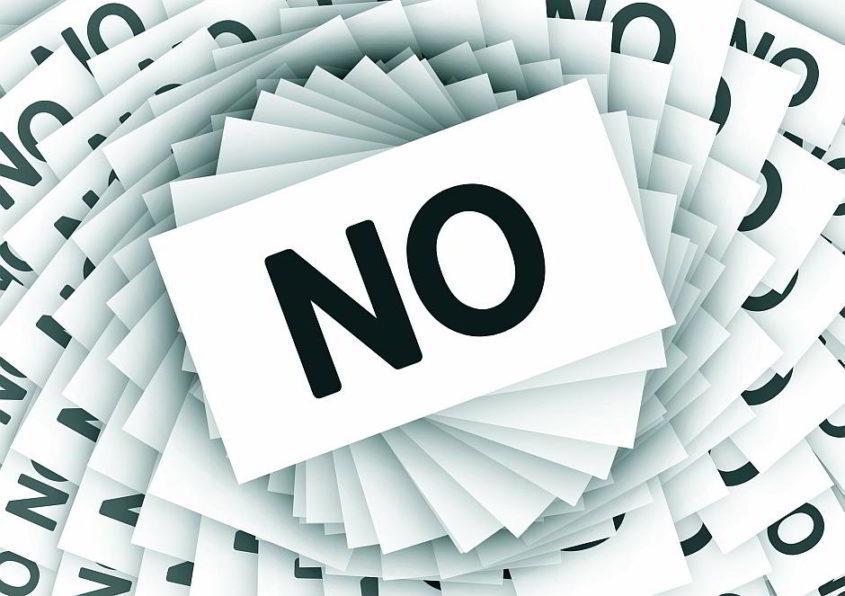 No! - (C) Geralt Altmann CC0 via Pixabay.de