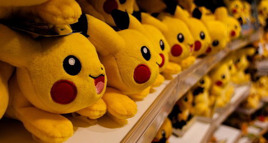 Pokémon: Pikachu-Horde - (C) Voltordu CC0 via Pixabay.de
