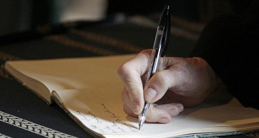 Etwas schreiben - (C) annazuc CC0 via Pixabay.de