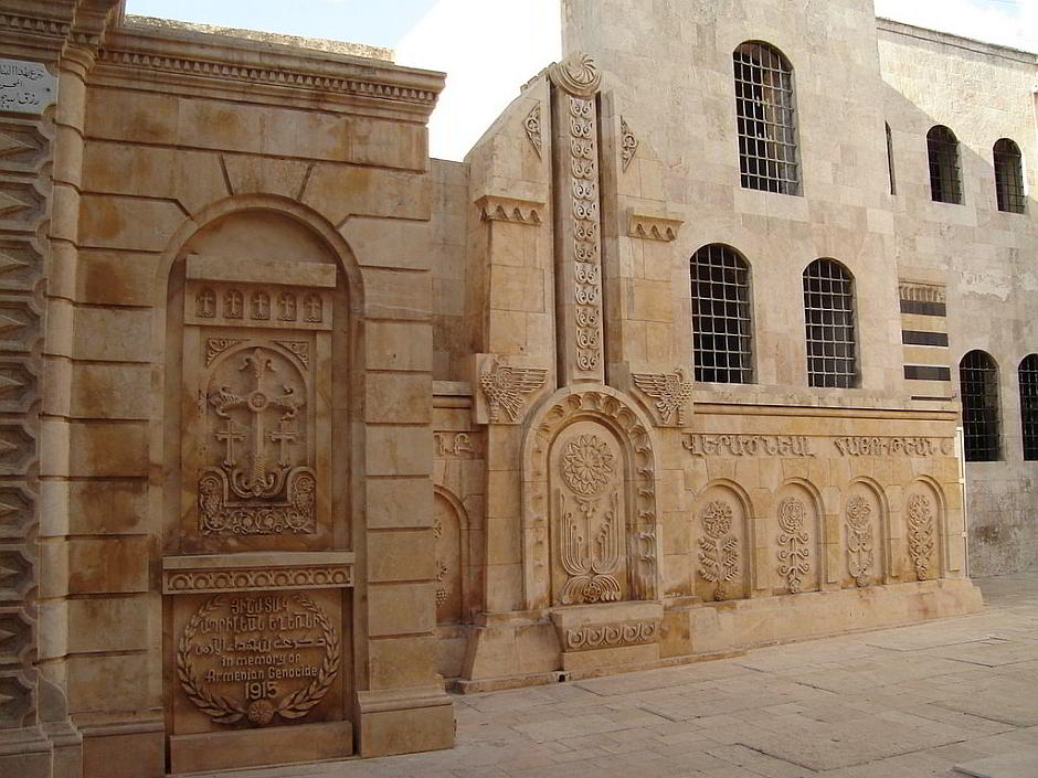 Gedenkstätte im syrischen Aleppo (40-Märtyrer-Kirche) - By hovic - old aleppo album [CC BY 2.0 (http://creativecommons.org/licenses/by/2.0)], via Wikimedia Commons