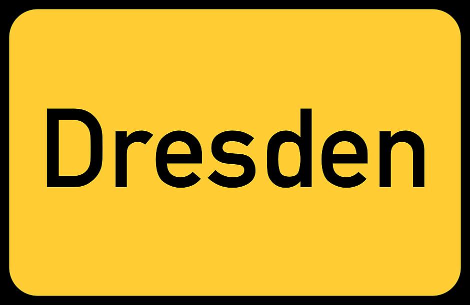 Dresden, Ortsschild - (C) Taken CC0 via Pixabay.de