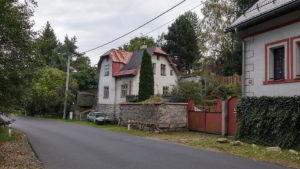 Ein Haus in der Straße Kraslická in Nejdek