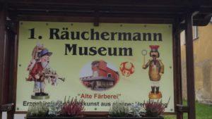 1. Räuchermann-Museum in der Alten Färberei in Cranzahl