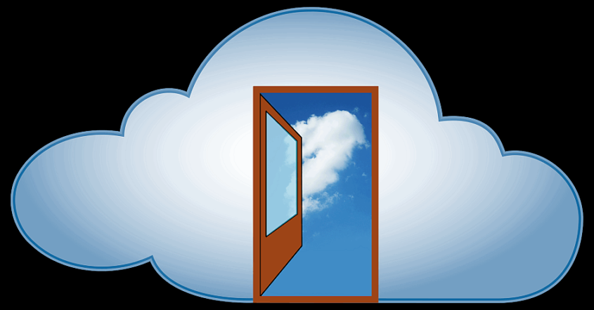 Cloud Computing - (C) stux CC0 via Pixabay.de