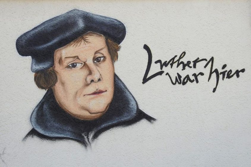 Luther war hier - (C) hansbenn CC0 via Pixabay.de