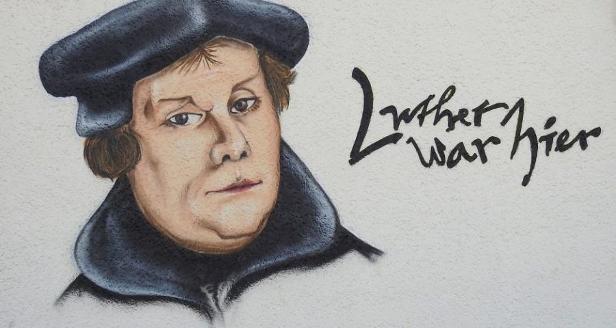 Luther war hier - (C) hansbenn CC0 via Pixabay.de