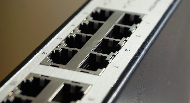 Ein Netzwerk-Switch - (C) webandi CC0 via Pixabay.de