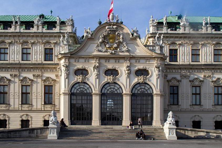 Das Belvedere in Wien - (C) domeckopol CC0 via Pixabay.de
