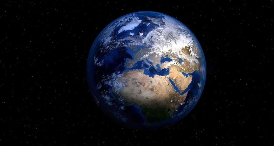Die Erde - (C) PIRO4D CC0 via Pixabay.de