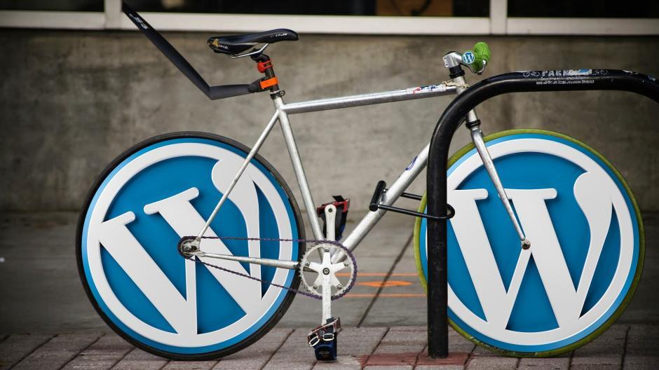 Das WordPress-Fahrrad - (C) 27704 CC0 via Pixabay.de