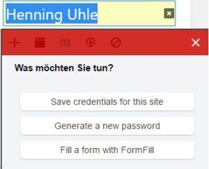 Gespeichertes Passwort aus Google Chrome nach LastPass übertragen