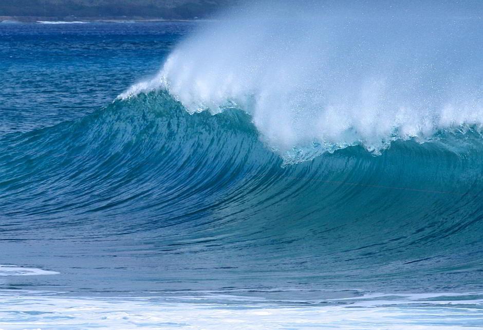 Eine Welle - (C) Aloha_Mahalo CC0 via Pixabay.de