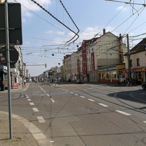 Gohlis-Mitte, Georg-Schumann-Straße, Richtung City