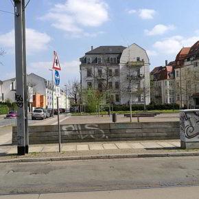 Gohlis-Süd. An der Lindenthaler Straße