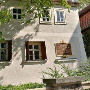 Gohlis-Süd, das Schillerhaus
