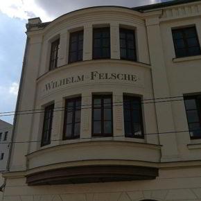 Wilhelm Felsche, Gründer der Schokoladenmanufaktur in Gohlis