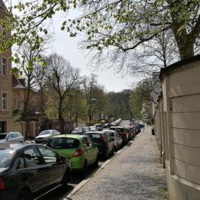 Gohlis-Süd, der Schlösschenweg ins Rosental