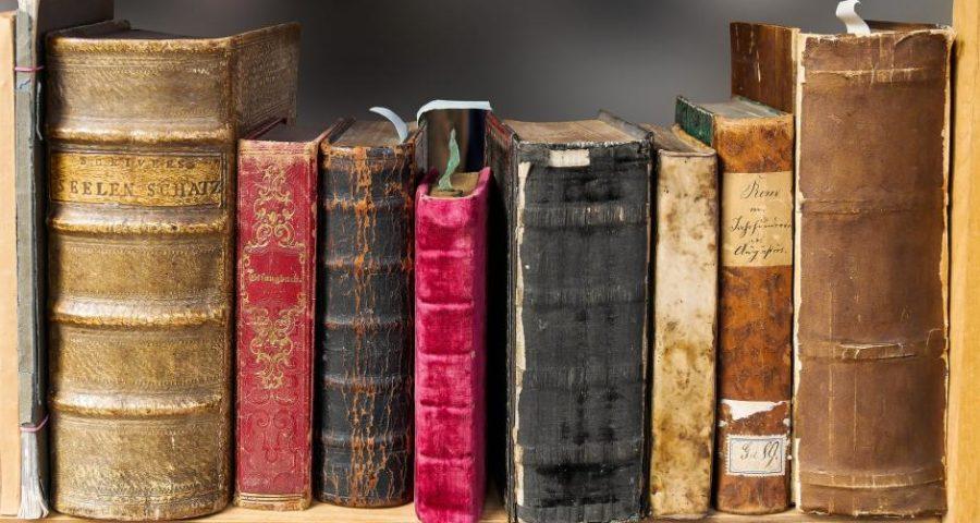 Bücher - (C) Gellinger CC0 via Pixabay.de