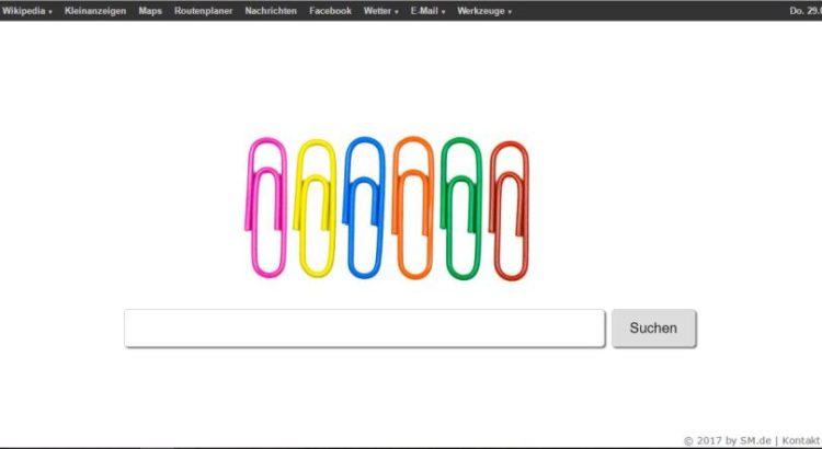 Die Seite sm.de ist im Browser plötzlich die Startseite