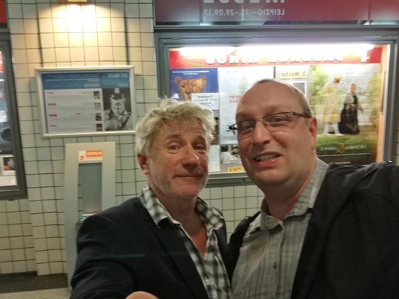Jörg Schüttauf und ich im Selfie und Alberei