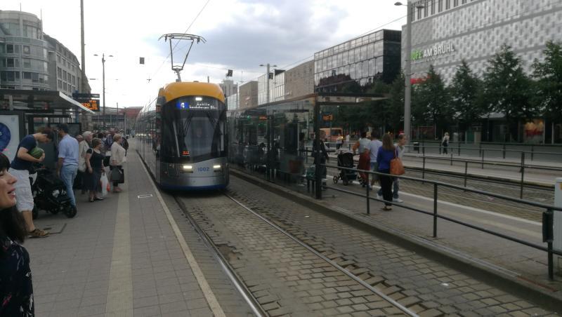 Solaris Tramino der Leipziger Verkehrsbetriebe (NGT10)