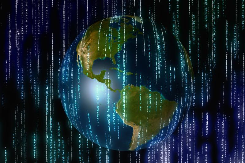 Digitalisierung - (C) Geralt Altmann CC0 via Pixabay.com - https://pixabay.com/de/bin%C3%A4r-eins-null-raum-universum-3044663/