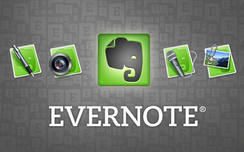 Evernote - CC-BY 2.0 Joe Ross - https://www.flickr.com/photos/joeybones/5330351382